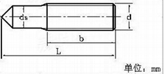 902.1手工焊用焊接螺柱M8*20 碳鋼
