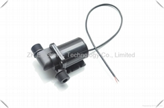 Small electric submersible pump for coffee machine