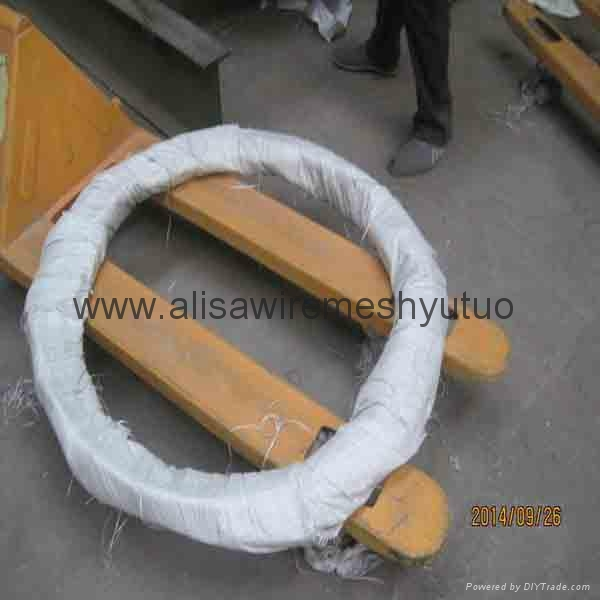 Epoxy Concertina Barbed Tapes razor barbed wire  4