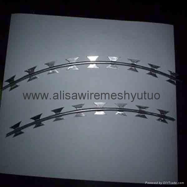 Bto-10Bto-22Bto-30 Hot Dipped Ga  anized Razor Ribbon Wire