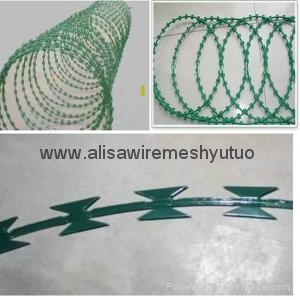 Anti climb razor barbed wire  3