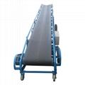 Large Capacity Steel Frame Belt Conveyor For Mining Metallurgy Chemical Material
