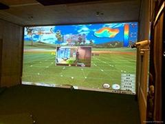 單屏高爾夫室內模擬器