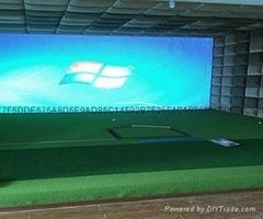 寬屏室內高爾夫模擬器