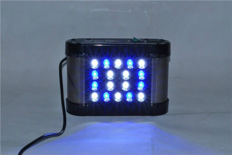 50w marine aquarium led lighting reef tank led aquarium WHITE + ROYAL BLUE  4