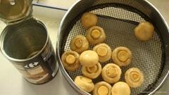 Canned Mushroom Whole an