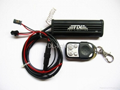 Flash Strobe LED Light Lamp Remote Control Controller 2 Way for Car