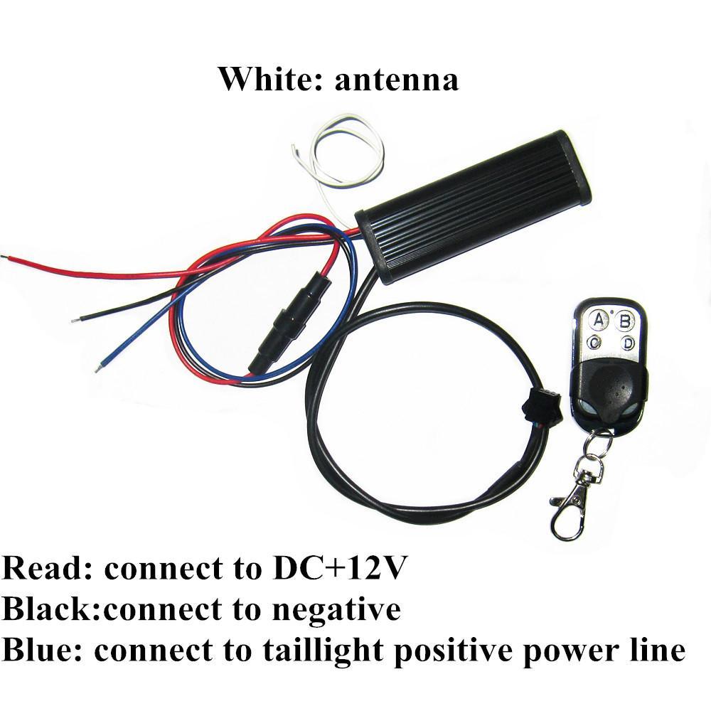 RGB 5050SMD Led Strip Lighting Brake Active Lights Function Controller 2