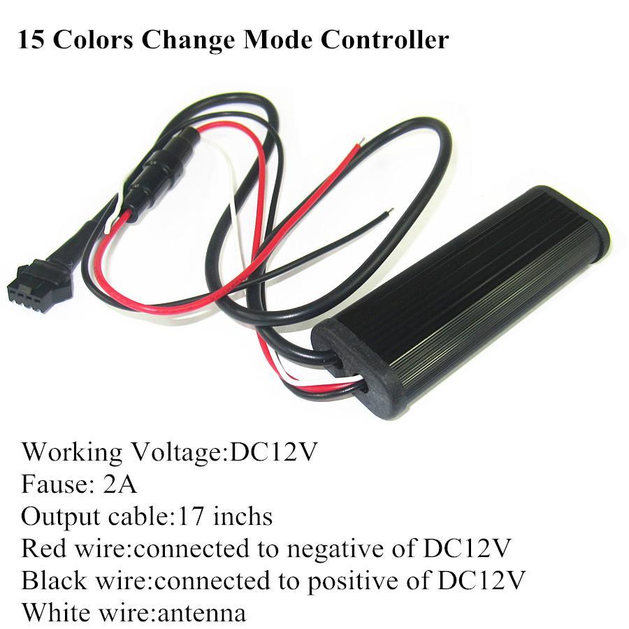 Rgb Flexible Led Strip 15 Color  Control Unit 2