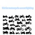 RGB Led Strip Kit With Remote Control Brake Warming For Motorcycle Lighitng 3