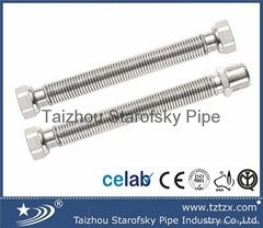 304 316L stainless steel corrugated water hose