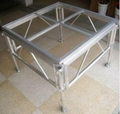 Aluminum stage truss roof trusses circle roof truss system for Cheap truss systems