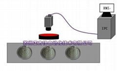 易拉盖刻线补涂视觉检测设备
