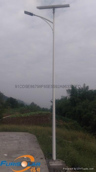 重庆新农村太阳能路灯40WLED 1