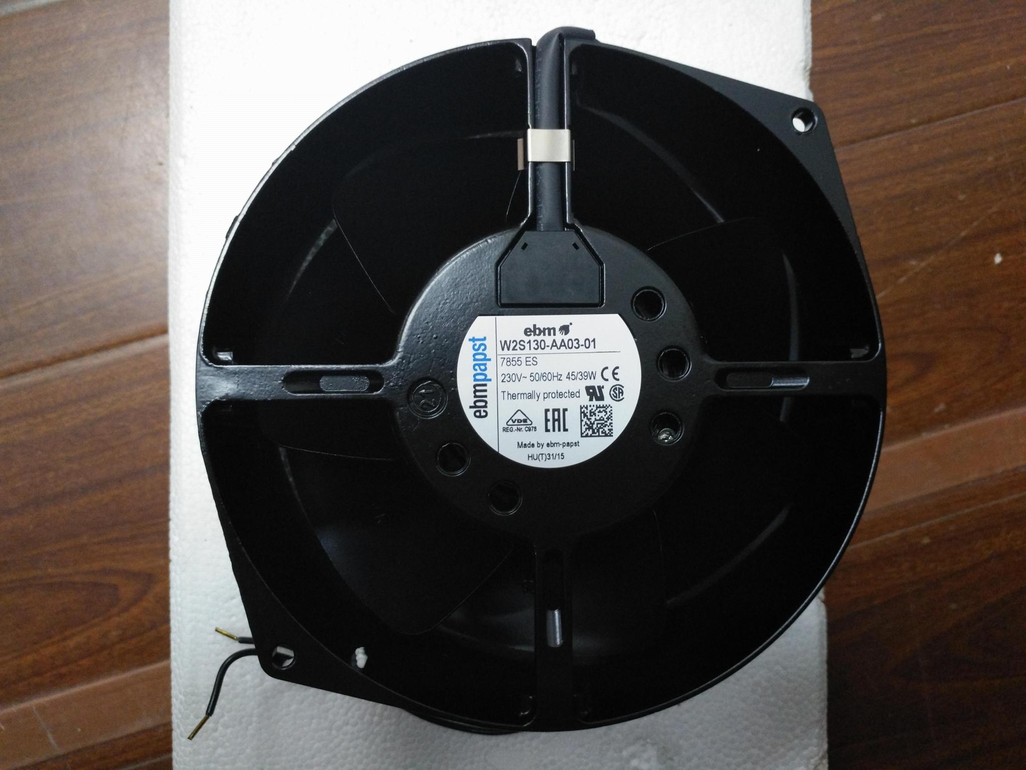 德國EBM-PAPST原裝進口風機W2S130-AA03-01/7855ES 1
