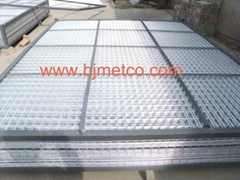 Welded wire mesh panel 2.4m*3.0m galvanised