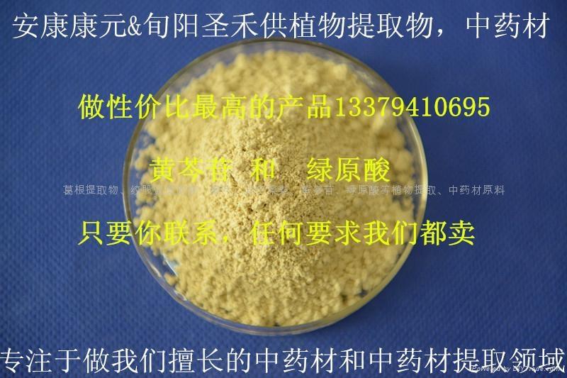 黄芩苷 1