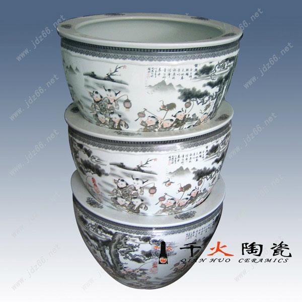 陶瓷景观花盆 1