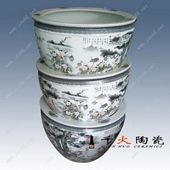 陶瓷景观花盆