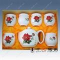 供應老人60大壽禮品陶瓷茶具