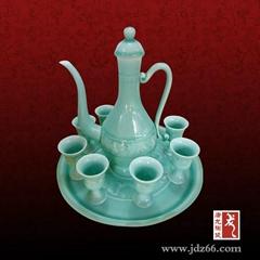 定做陶瓷自动酒具