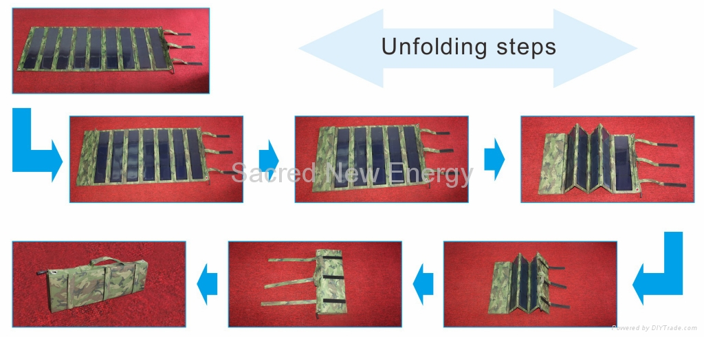 Foldable solar panel 2
