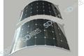 100W flexible solar module