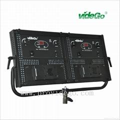 videGo 2*2 led studio panel lights