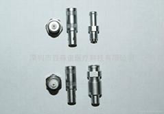 Metal ultrasonic instrument plug socket