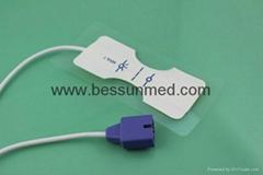 Nlcor oximax pediatric disposable spo2 sensor  ,foam