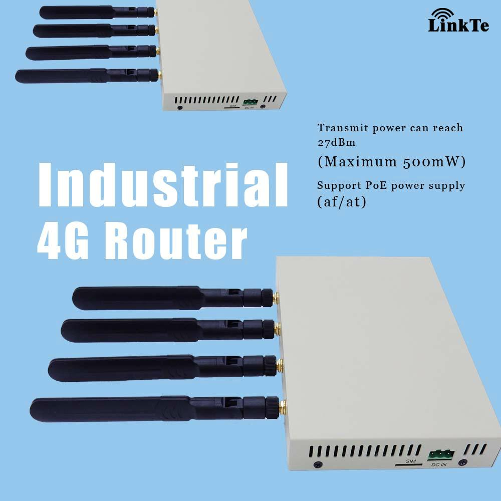 Industrial LTE 500mw High Power WiFi Router with OpenWrt