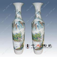 大型場所擺飾陶瓷大花瓶
