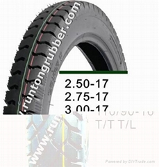 hot sale 110/90-16 130/90-15 motorcycle tires with CCC ISO9001 SON etc