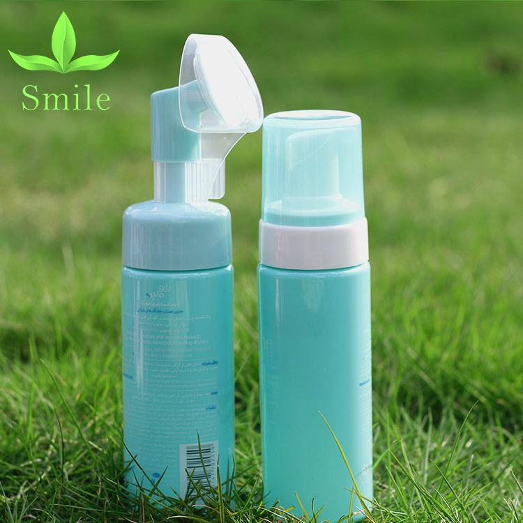 150 ml Cleanser Foam Bottle Soft Brush face cleaning foam pump 5