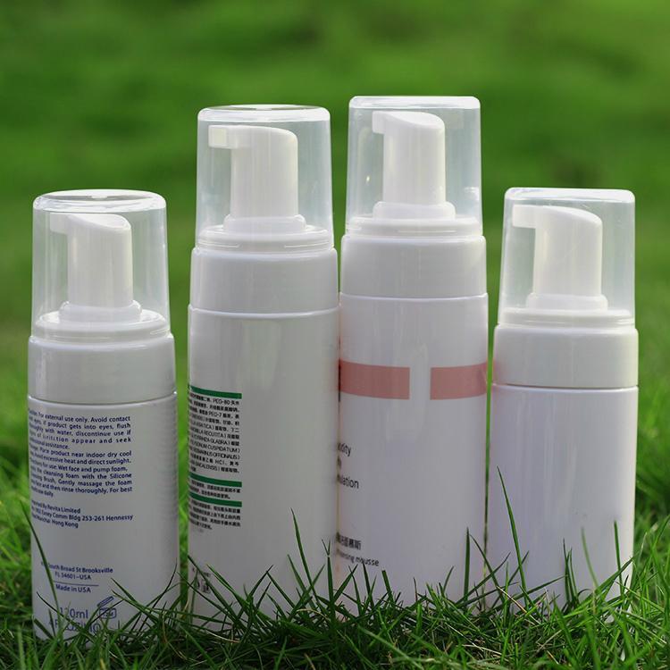 100ml Face Clean Mousse Pump Bottle 43mm Foam pump 3