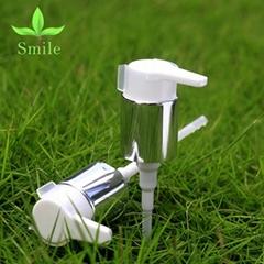 24mm Moisturizing Face lotion dispenser pump high quality silver lotion pump