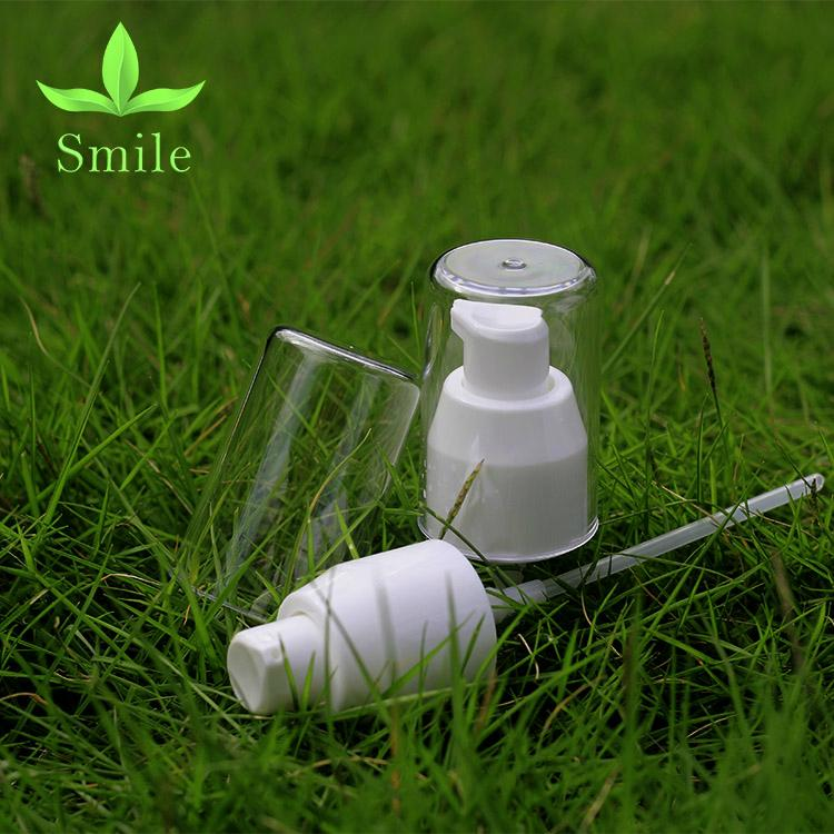 24mm Moisturizing Face lotion dispenser pump high quality silver lotion pump 2