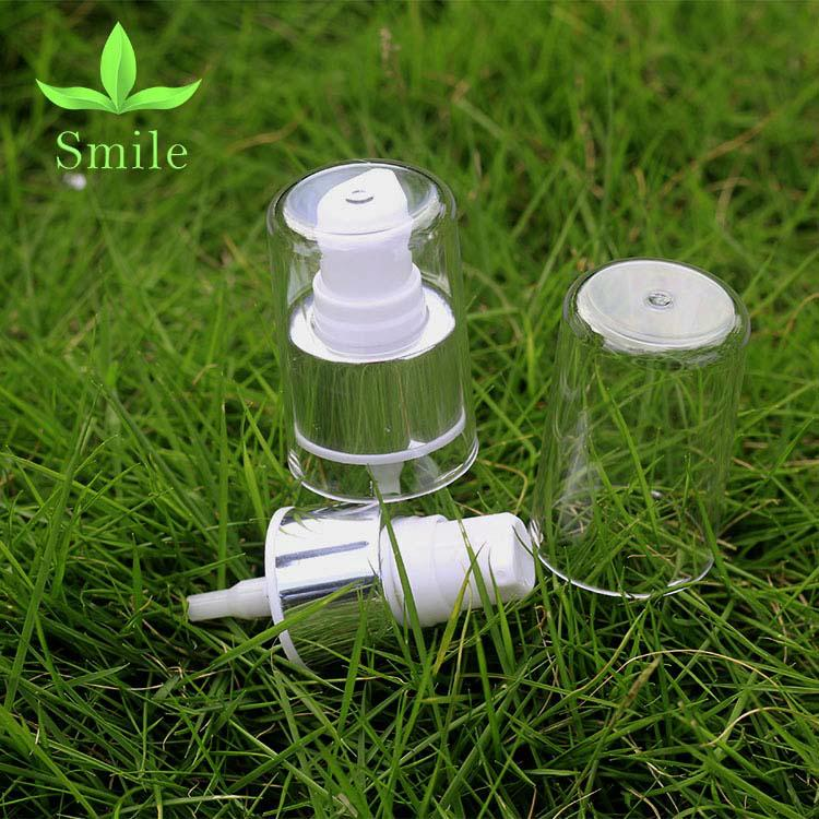 24mm Moisturizing Face lotion dispenser pump high quality silver lotion pump 5