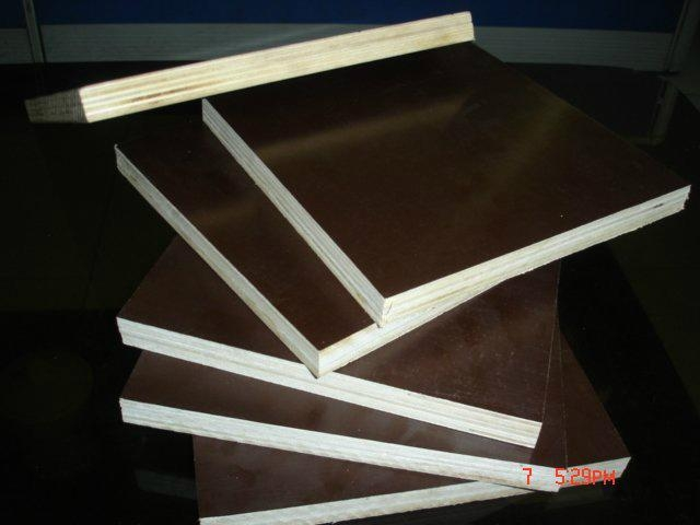 lowest price poplar brown film faced plywood for construction