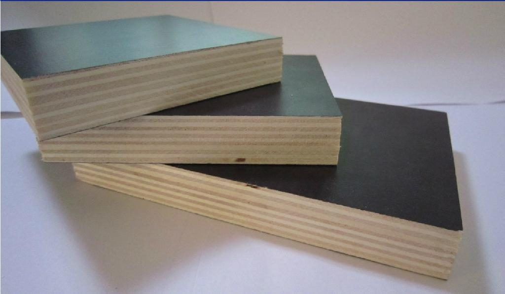 lowest price poplar brown film faced plywood for construction 3