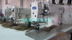 Brother three head weft hair sewing machine