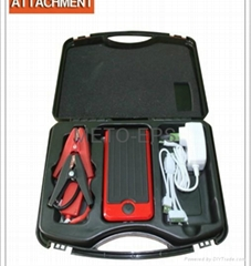 12,000mAh multifunction jump starter 12V with air compressor