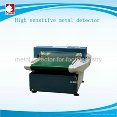 Automatic needle metal detector for clothing