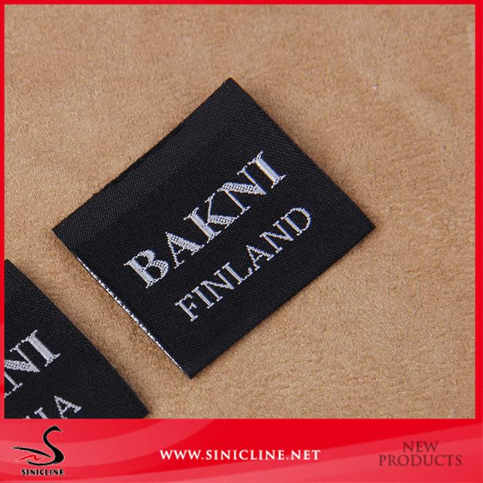 the taffeta customized fabric labels from factory direct 5