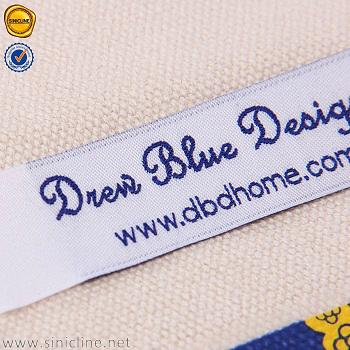 Sinicline Customized garment woven label clothing label 3