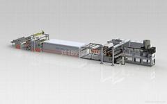 EVA太陽能膠膜低溫工藝擠出生產線