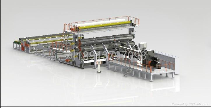 TPO waterproofing membrane production line 3