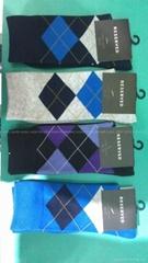 Men Argyle Socks