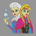 Frozen Anna Rhinestud Transfers
