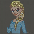 Custom Cartoon Frozen Elsa Inspired Hot